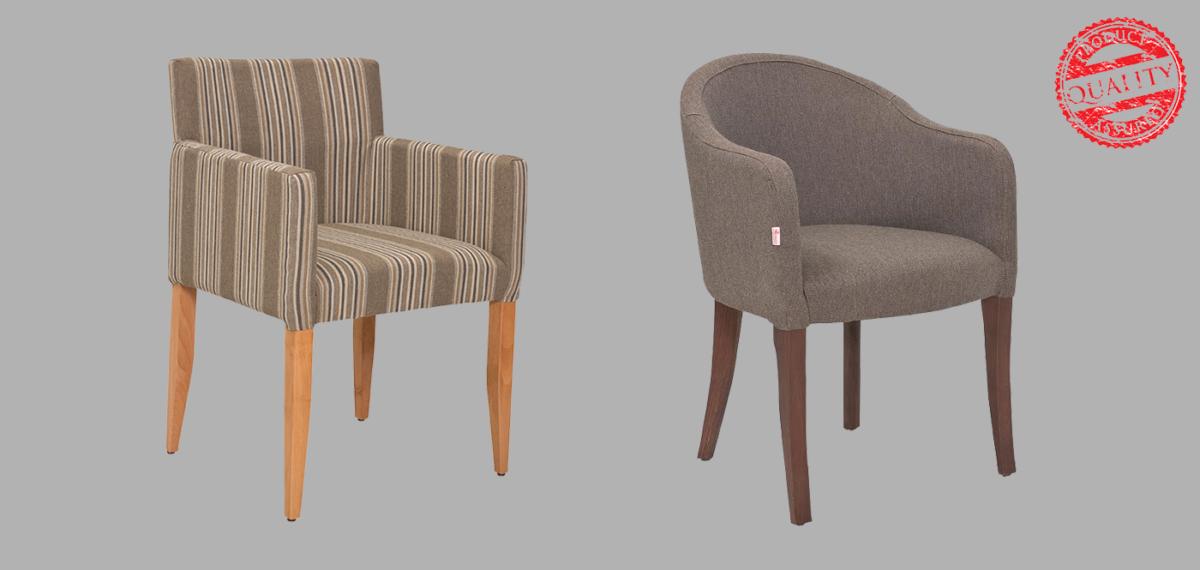 Moderne i udobne fotelje za hotele, restorane, kafiće, bašte. Kvalitetna tkanina i veoma pouzdana konstrukcija.